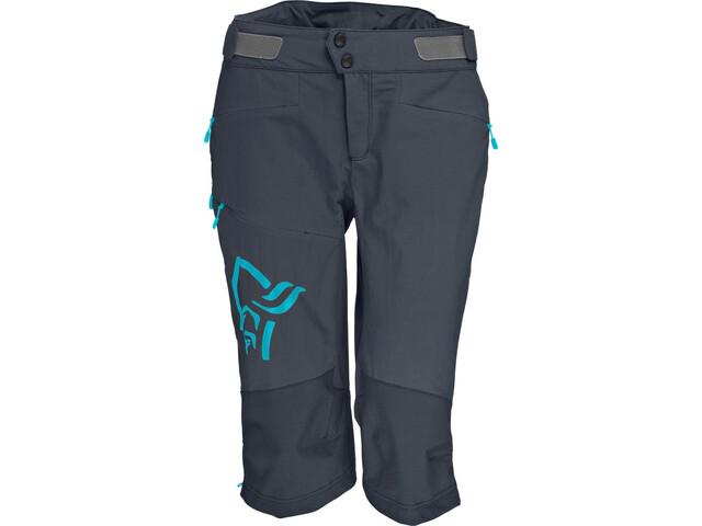 Norrøna Fjørå Flex1 Shorts Dam cool black